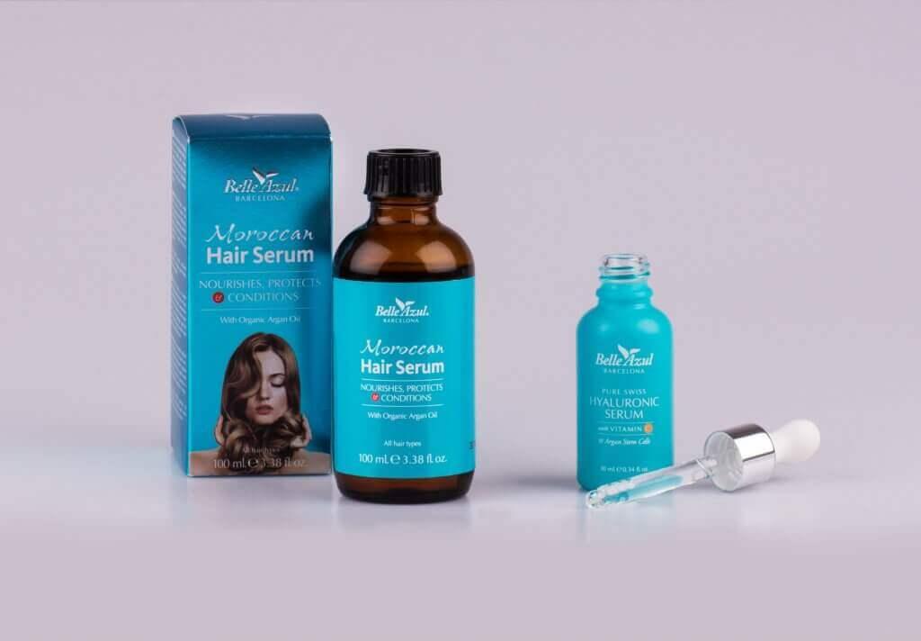 Pure Swiss Hyaluronic Moroccan Hair Serum